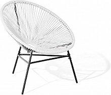 D&D Handel GmbH Designer Acapulco Chair Weiss