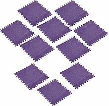 D DOLITY 10er-Set Spielmatte Spielteppich