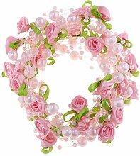 D DOLITY Blumen Perlengirlande Perlenband