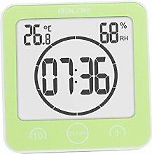 D DOLITY Digital Badezimmeruhr Thermometer