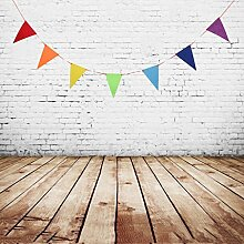 D DOLITY Dreieck Wimpelkette Girlande Banner aus