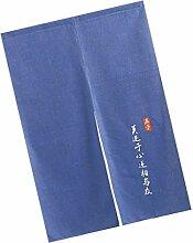 D DOLITY Japanische Tapisserie Türvorhang