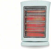D Electric heater Heizung Energiesparende Home Kleine Sonnenheizung Mini-Ofen Elektro-Heizung,Weiß
