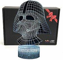 D & O 3D Optische Illusions Lampe, Star Wars 7