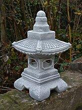D2158 Herrliche Japanische Steinlaterne Oki Gata
