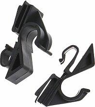 D2D Paar Hutablage Clips Kleiderbügel Clip Seat