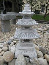 D920 Japanische Steinlaterne Pagode Gartenfigur Steinlampe