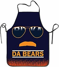 Da Bears Chicago Windy City Mustache Glasses