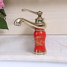 Daadi Antik Messing - warme und kalte Waschbecken