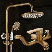 Daadi Antike Dusche Badewanne Bad, Dusche mit