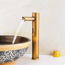 Daadi Das Kupfer vergoldet Waschtisch Armatur mit