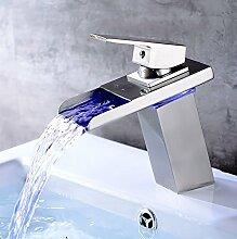 Daadi Küche Bad WC LED Wasserfall voll Kupfer