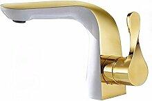 Daadi Küche Badezimmer Emaille White Gold-Kupfer