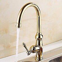 Daadi Küche Badezimmer gold Waschbecken mit