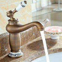 Daadi Messing antik Waschbecken Wasserhahn im