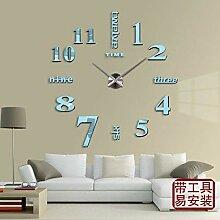 Daadi Modernes Wohnzimmer Uhren Wanduhr Mute