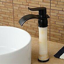 Daadi Schwarz Antik Waschtisch Armatur Wasserhahn