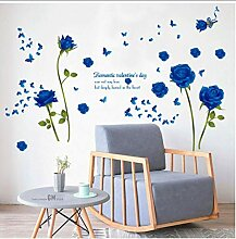 Daapplok Rose Blume Abnehmbare Wohnzimmer
