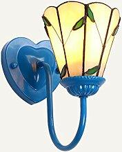 DACHAGNDJ Retro Wandlampe,Europäische