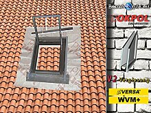 Dachausstieg Dachausstiegsfenster OKPOL WVM+ 47 x 57 cm Höhste Qualitä