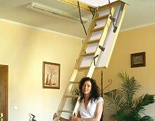 Dachbodentreppe Thermo Plus Holz 1120x600 Bodentreppe U-Wert 0,80 W/m²K