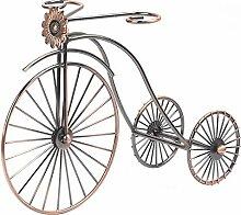 DACHENGJIN Regal Schmiedeeisen Rad Tricycle