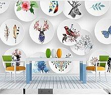 DACHENZI 3D Tapete Wandbild Für Schlafzimmer Sofa