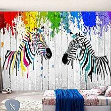 DACHENZI Bunte Graffiti-Tapete Kinderzimmer