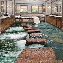 DACHENZI Fluss Boden Pfad Toiletten Bad 3D