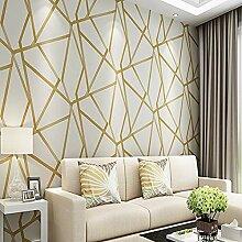 DACHENZI Metallic Geometric Tapete Für Wände