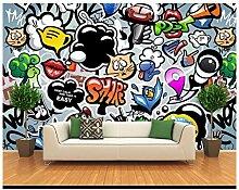 DACHENZI Tapete 3D Für Wände 3 D Wandgemälde