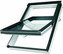 Dachfenster Fakro Schwingfenster 94x98cm
