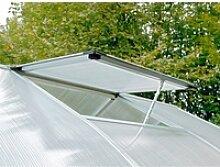 Dachfenster für KGT-Gewächshäuser mit 16 mm