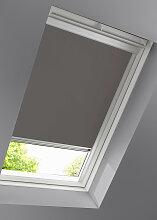 Dachfenster-Rollo Verdunkelung, braun ((H/B)