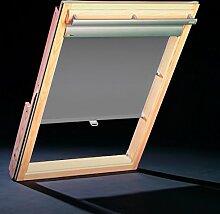 Dachfenster Thermo Rollos für Roto Fenster - Profilfarbe Silber (auch mit weißen Profilen erhältlich) – sun collection