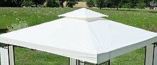 Dachplane Dachstoff Ersatzdach Plane wasserfest für Gartenpavillon 7074A - kein Umtausch oder Rückgaberecht von AS-S