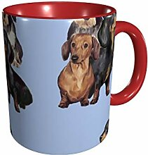 DachshundsInBlue Office 11 Gu Division Becher