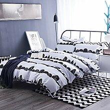 DACHUI Bettlaken - Baumwolle 1800 Betten-Fade,