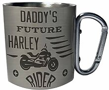 Daddy S Zukünftiger Harley Fahrer Edelstahl