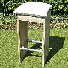 Dadeldo Barhocker Möbel Bauholz Wasserrohre