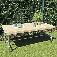 Dadeldo Tisch Möbel Bauholz Wasserrohre