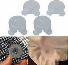 DADEQISH 4 Stücke Decken Quilt Bettlaken Clips