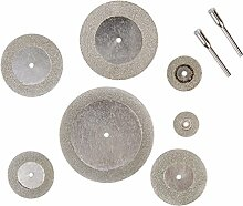 DADEQISH 7 Stück Diamantschleifscheibe Dremel