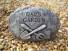 Dads Garten Stein,