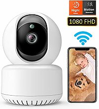DADYPET WLAN IP-Kamera 1080P FullHD, WiFi Indoor