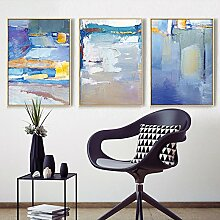 Daeou Abstraktes Wohnzimmer Sofa Hintergrund Wandbehang Bild drucken dekorative Xuan