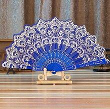 Daeou Bronzieren Ventilator Dame Faltung Tanz Fan