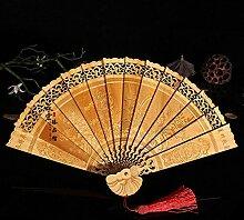 Daeou Cliff Cypress Fan festen Holz Ventilator