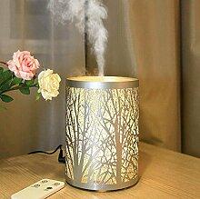 Daeou Eisen Aromatherapie ätherische Öl-Lampe Ultraschall Haus stumm Aromatherapie Luftbefeuchter