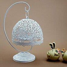 Daeou Eisen Kerzenständer Esstisch Dekoration Moderne minimalistische Leuchter Schlafzimmer Wohnzimmertisch